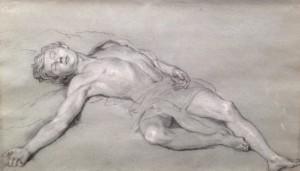Man reclining