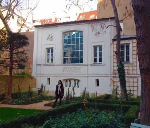 Delacroix's Studio and Garden in Paris.