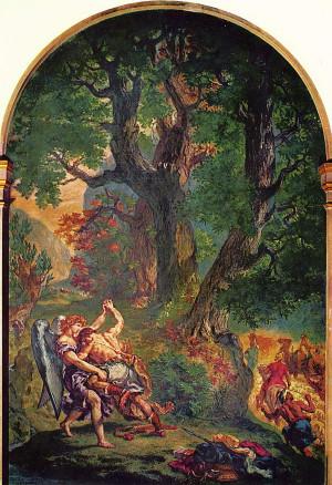 Delacroix, 1861. L.'église Saint-Sulpice de Paris