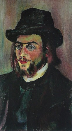 Portrait of Erik Satie 1893