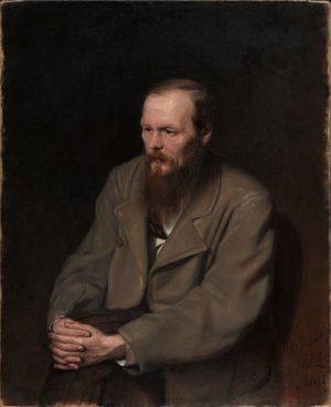 Fyodor Dostoevsky by Vasily Perov, 1872. © State Tretyakov Gallery, Moscow