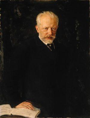 Tchaikovsky by Nikolai Kuznetsov, 1893. © State Tretyakov Gallery, Moscow
